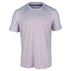 NIKE Men`s Premier Roger Federer Tennis Crew Purple