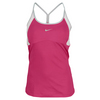 NIKE Women`s Strappy Knit Tennis Tank Pink