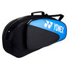 YONEX Club Triple Tennis Bag Black/Turquoise