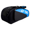 YONEX Club Six Pack Tennis Bag Black/Turquoise