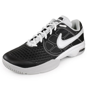NIKE MENS AIR COURTBALLISTEC 4.1 SHOES BK/WH