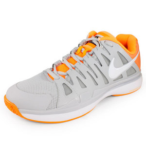 NIKE WOMENS ZOOM VAPOR 9 TOUR SHOE GY/CITRUS