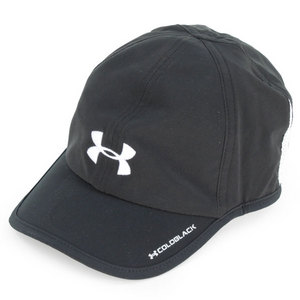 UNDER ARMOUR WOMENS ARMOURLIGHT CAP BLACK/WHITE