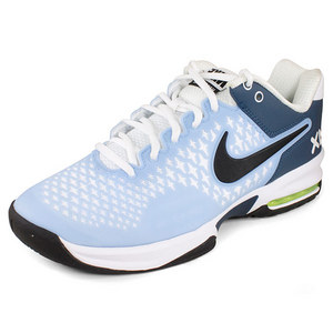 NIKE WOMENS AIR MAX CAGE SHOES LT BLUE/WHITE