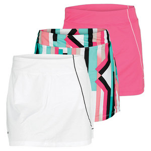ASICS WOMENS STRAIGHT SETS TENNIS SKORT