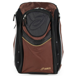 ASICS TENNIS BACKPACK BROWN/BLACK