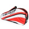 DUNLOP Club Three Racquet Tennis Bag Red