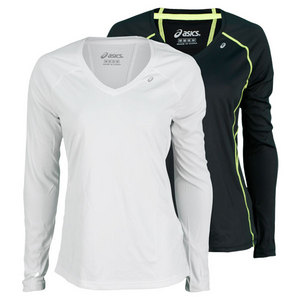 ASICS WOMENS FAVORITE LONG SLEEVE TOP