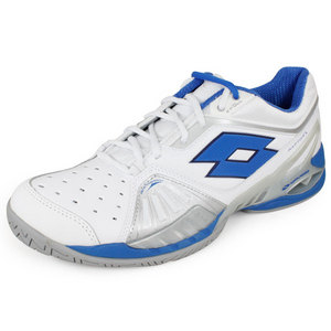 LOTTO MENS RAPTOR ULTRA IV SPEED SHOE WHITE/BL