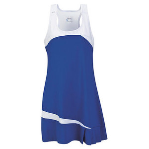 Women`s Fire Tennis Dress Royal