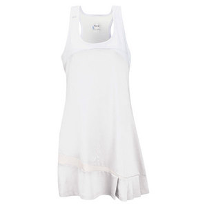 Women`s Fire Tennis Dress White