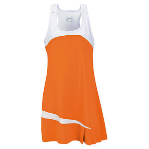 Women`s Fire Tennis Dress Orange