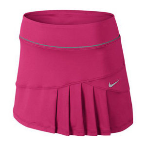 NIKE WOMENS PLEATED KNIT SKIRT PINK FORCE