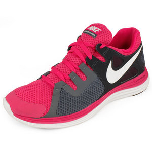 NIKE WOMENS LUNARFLASH+ RUNNING SHOES PINK