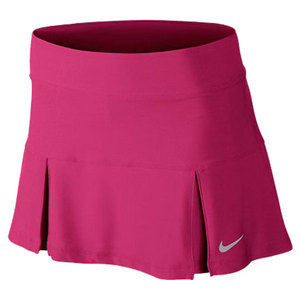 NIKE WOMENS FOUR PLEATED 14.17 IN SKIRT PINK