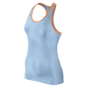 NIKE WOMENS SHAPING LONG BRA ICE BLUE