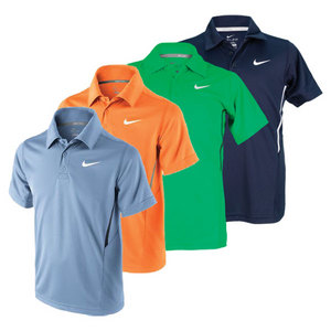 NIKE BOYS NET UV SS TENNIS POLO