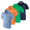 NIKE Boy`s NET UV Short Sleeve Tennis Polo