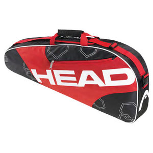 HEAD ELITE PRO TENNIS BAG RED/BLACK/WHITE
