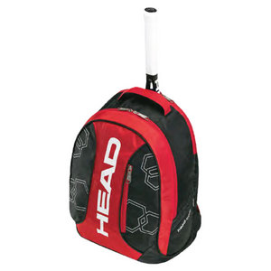 HEAD ELITE TENNIS BACKPACK RED/BLACK/WHITE