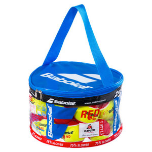 Play And Stay Red Felt 24 Count Bag Tennis Balls