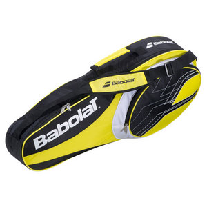 BABOLAT 2013 CLUB LINE 3 PACK TENNIS BAG YELLOW