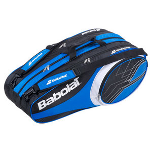BABOLAT 2013 CLUB LINE 12 PACK TENNIS BAG BLUE