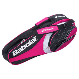 BABOLAT 2013 CLUB LINE 3 PACK TENNIS BAG PINK