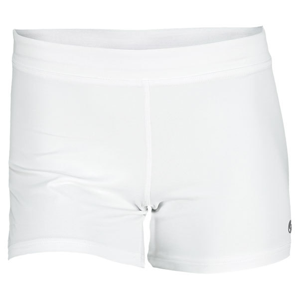 Women's Climate Tennis Short White