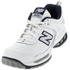 Men`s MC806 B Width Tennis Shoes White by NEW BALANCE