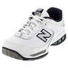 Men`s MC806 4E Width Tennis Shoes White by NEW BALANCE