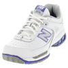 Women`s WC806 B Width Tennis Shoes White by NEW BALANCE