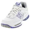 NEW BALANCE Women`s WC806 B Width Tennis Shoes White