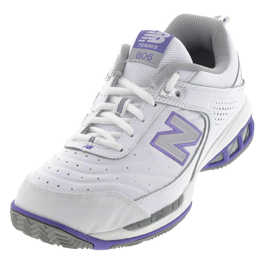 Women's Wc806 D Width Tennis Shoes White