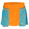 WILSON Women`s Up A Set Tennis Skort Tuscan Orange/Oceana
