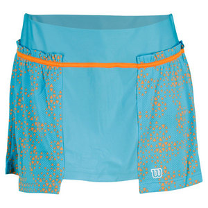 WILSON WOMENS UP A SET TENNIS SKORT OCEANA