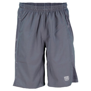 WILSON MENS WELL EQUIPPED TENNIS SHORT GREY