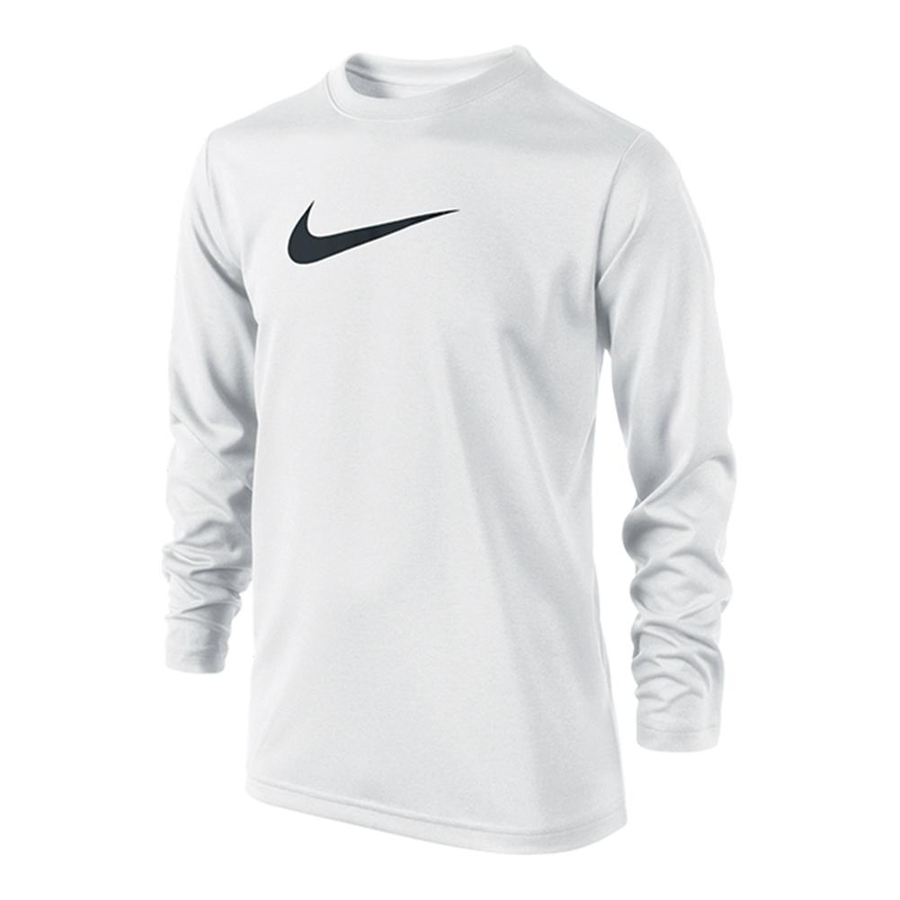 Boy's Legend Long Sleeve Tennis Top