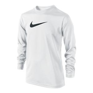 NIKE BOYS LEGEND LONG SLEEVE TENNIS TOP