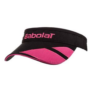 Logo Tennis Visor Black/Pink