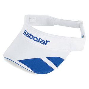 BABOLAT LOGO TENNIS VISOR WHITE
