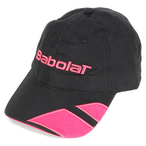 BABOLAT MICROFIBER TENNIS CAP BLACK/CORAL
