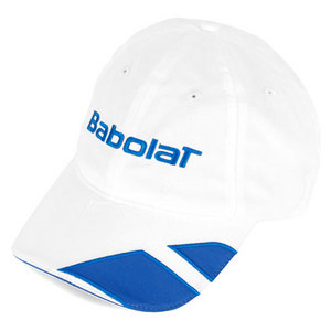 BABOLAT MICROFIBER TENNIS CAP WHITE