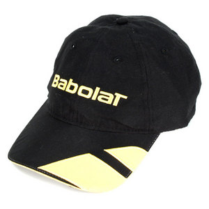 BABOLAT MICROFIBER TENNIS CAP BLACK/YELLOW