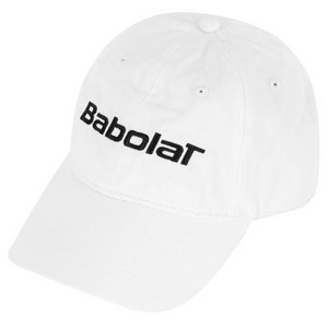 BABOLAT BASIC LOGO TENNIS CAP WHITE