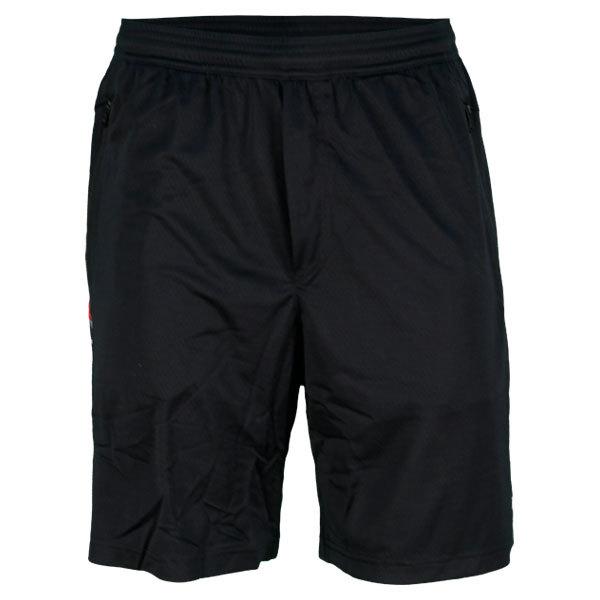Men's Engineered Tennis Shorts Polo Black
