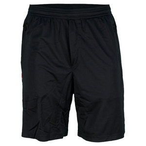 POLO RALPH LAUREN MENS ENGINEERED TENNIS SHORTS POLO BLACK
