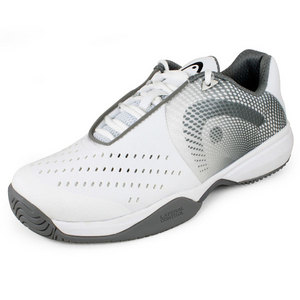 HEAD WOMENS INSTINCT II TEAM SHOES WHITE/GRAY