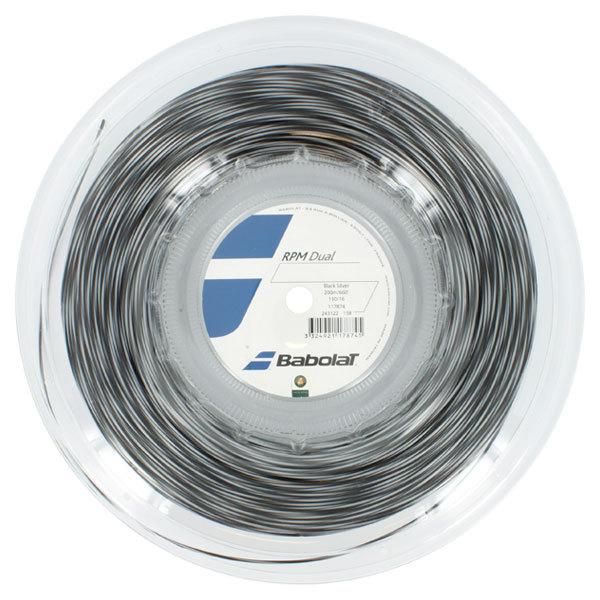 Rpm Dual 16g Tennis String Reel Silver/Black