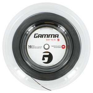 GAMMA RZR RX 16G TENNIS STRING REEL BLACK